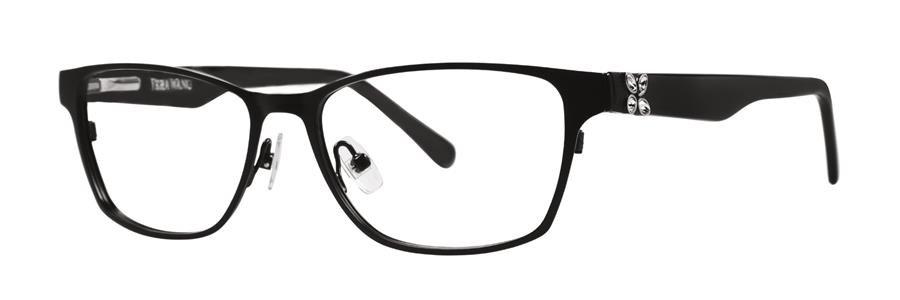 Vera Wang MADRI Black Eyeglasses Size53-15-135.00