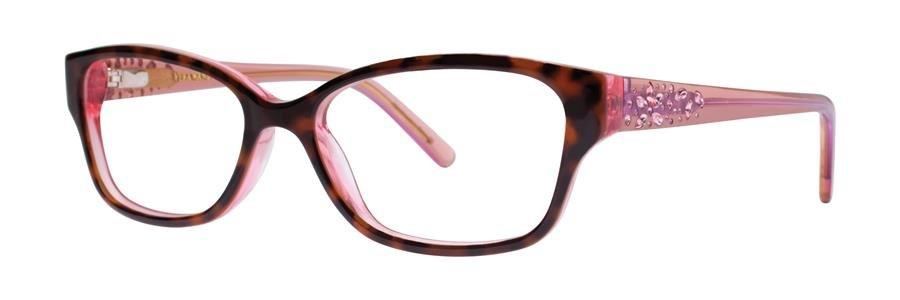 Vera Wang MAGNIFIQUE Rose Tortoise Eyeglasses Size50-15-130.00