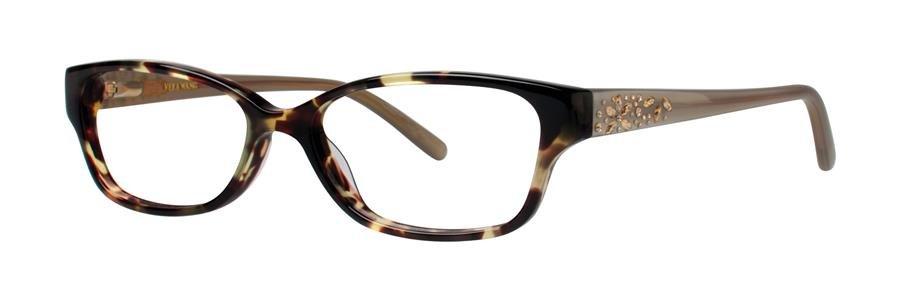 Vera Wang MAGNIFIQUE Tortoise Eyeglasses Size52-15-135.00