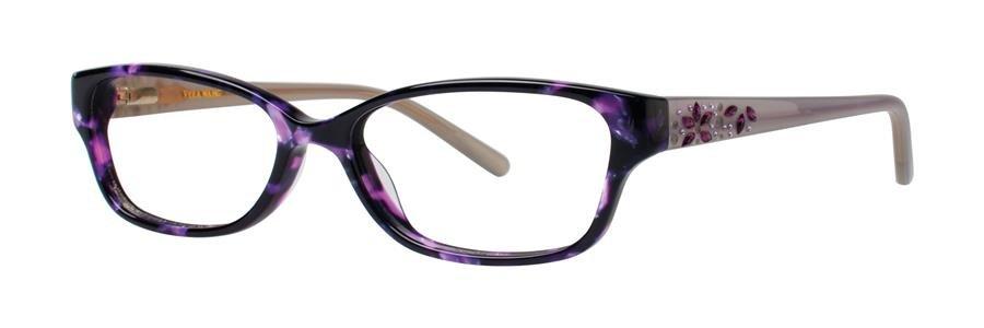 Vera Wang MAGNIFIQUE Wine Tortoise Eyeglasses Size50-15-130.00