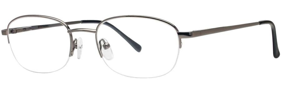 Gallery MANNY Pewter Eyeglasses Size52-19-140.00