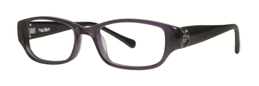 Vera Wang MARINDA Amethyst Eyeglasses Size50-17-130.00