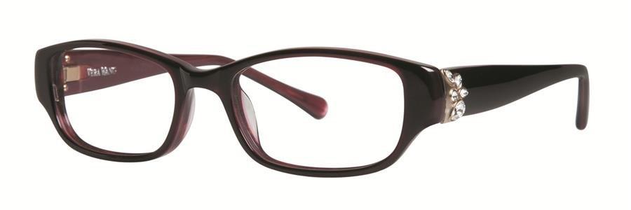 Vera Wang MARINDA Ruby Eyeglasses Size48-17-130.00