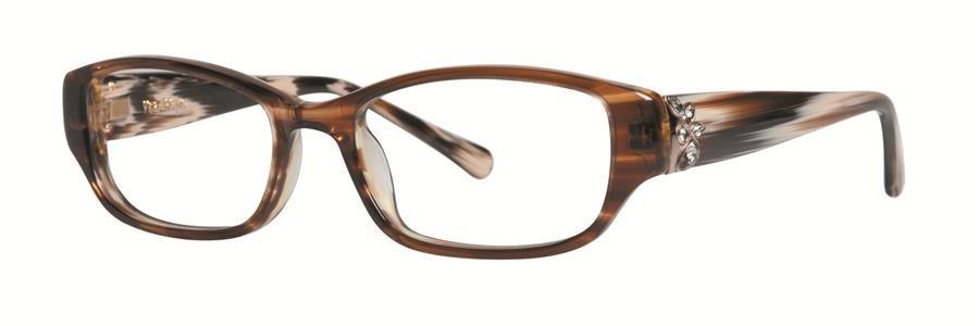 Vera Wang MARINDA Tabac Eyeglasses Size48-17-130.00