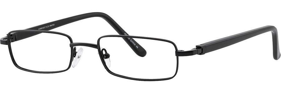 Comfort Flex MARIO Black Eyeglasses Size51-19-140.00