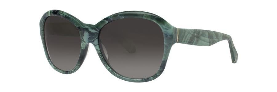 Zac Posen MARLENE Malachite Sunglasses Size57-17-135.00