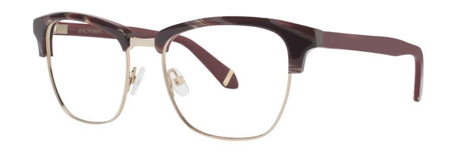 Zac Posen MASHA Maroon Eyeglasses Size51-17-135.00