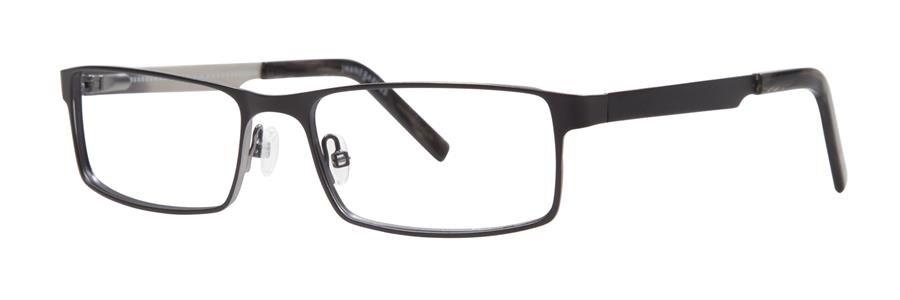 Jhane Barnes MAXIMUM Black Eyeglasses Size56-17-145.00