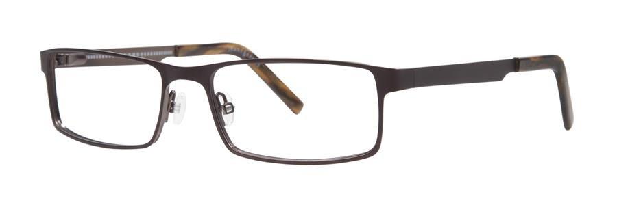 Jhane Barnes MAXIMUM Brown Eyeglasses Size56-17-145.00