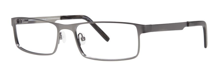 Jhane Barnes MAXIMUM Gunmetal Eyeglasses Size54-17-140.00
