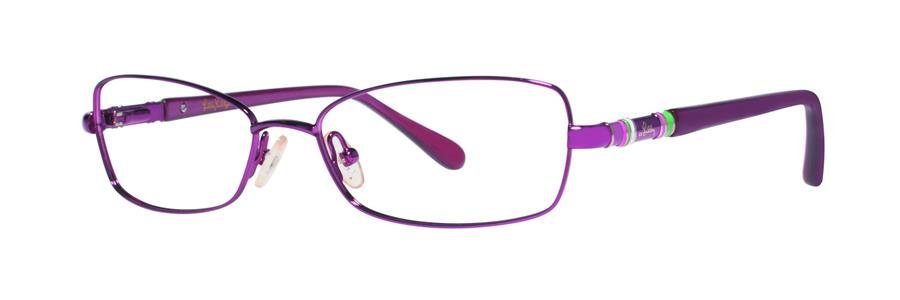 Lilly Pulitzer MAYBELL Berry Eyeglasses Size53-16-135.00