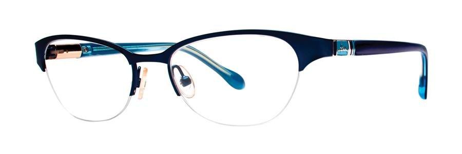 Lilly Pulitzer MCCOY Dark Navy Eyeglasses Size50-17-135.00