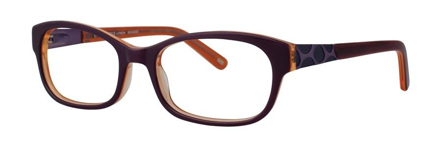 Timex MEANDER Eggplant Eyeglasses Size49-17-130.00