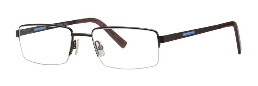 Jhane Barnes MEASURE Brown Eyeglasses Size51-18-135.00