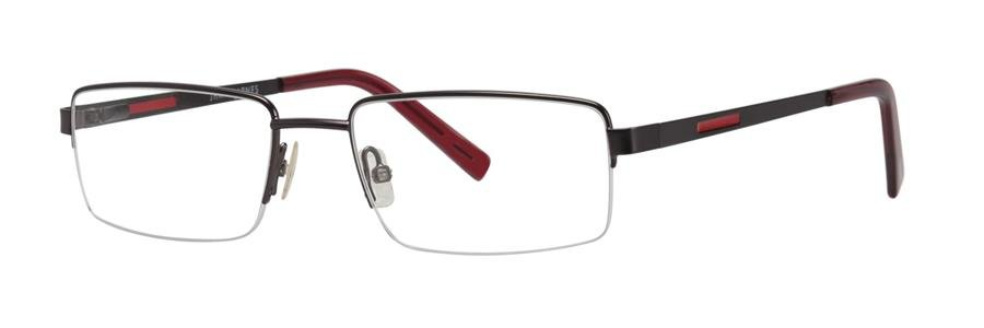 Jhane Barnes MEASURE Gunmetal Eyeglasses Size53-18-140.00