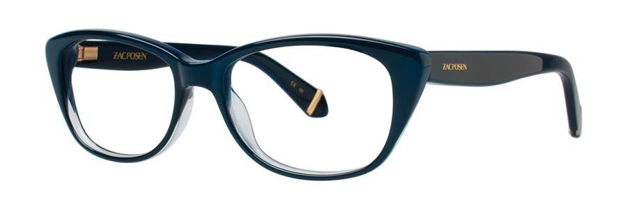 Zac Posen MELINA Blue Eyeglasses Size53-16-135.00