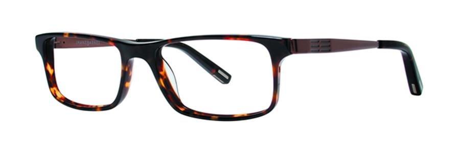 Jhane Barnes METHOD Tortoise Eyeglasses Size52-17-140.00