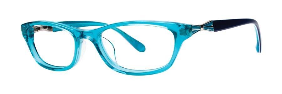 Lilly Pulitzer MINTA Crystal Turquoise Eyeglasses Size46-15-125.00