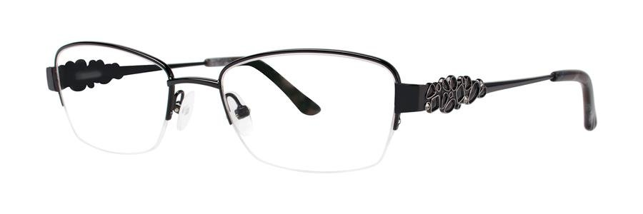 Dana Buchman MIRIELA Black Eyeglasses Size50-18-130.00