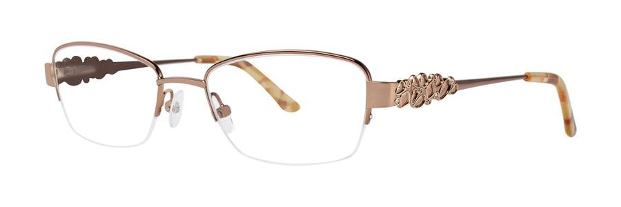 Dana Buchman MIRIELA Brown Eyeglasses Size52-18-135.00