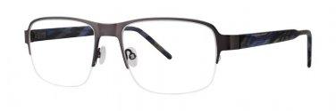 Jhane Barnes MOLECULAR Gunmetal Eyeglasses Size52-18-140.00