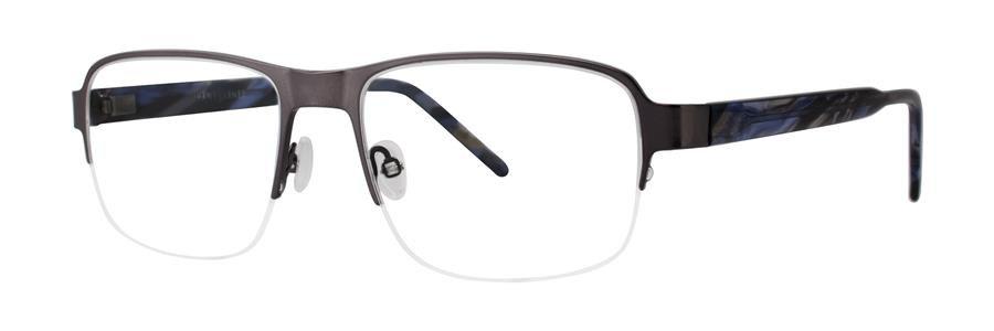 Jhane Barnes MOLECULAR Gunmetal Eyeglasses Size54-18-145.00