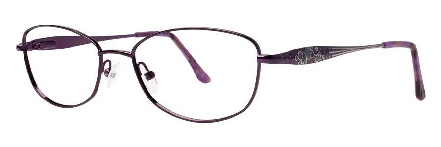 Dana Buchman NABILA Violet Eyeglasses Size53-17-135.00