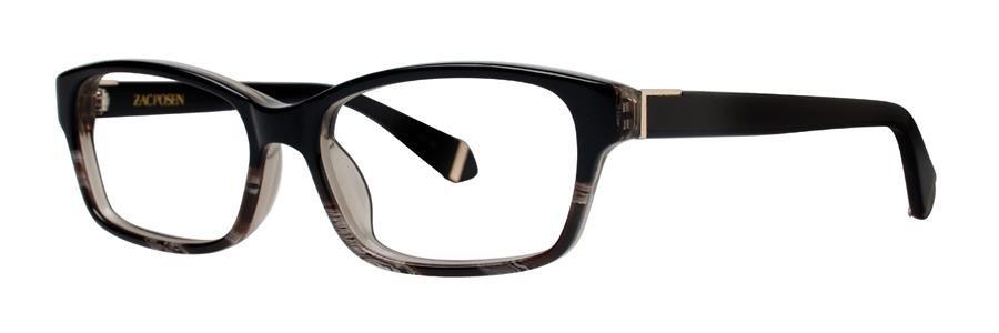 Zac Posen NATALYA Black Eyeglasses Size53-15-135.00