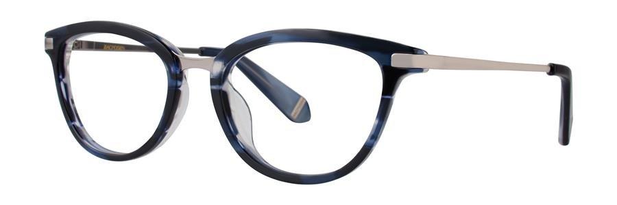 Zac Posen NENA Blue Eyeglasses Size52-18-135.00