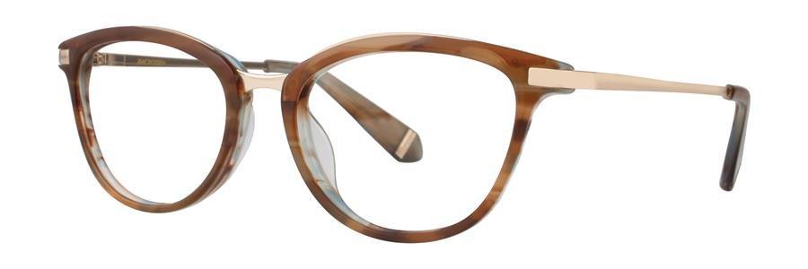 Zac Posen NENA Brown Eyeglasses Size50-18-130.00