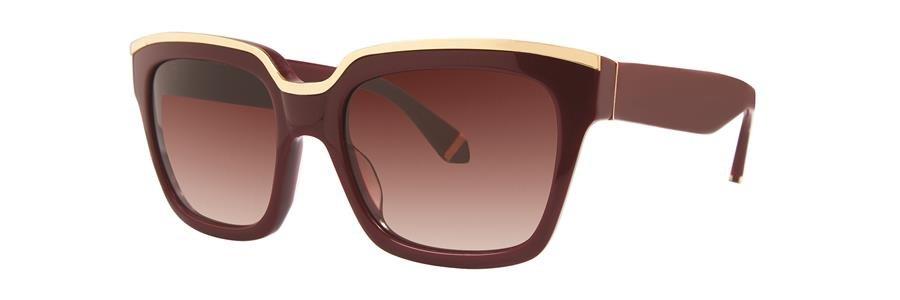 Zac Posen NICO Maroon Sunglasses Size56-18-135.00