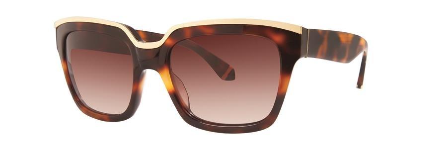 Zac Posen NICO Tortoise Sunglasses Size56-18-135.00