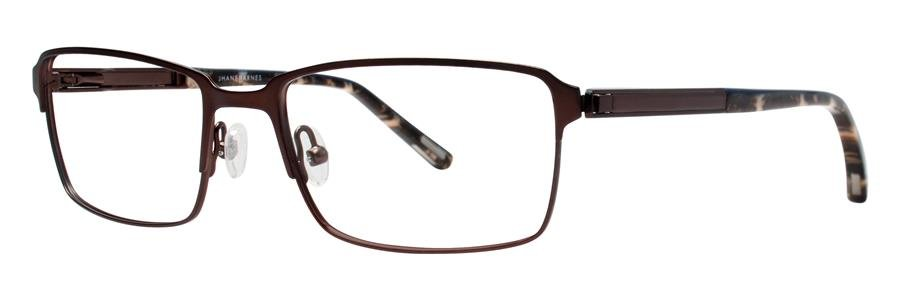 Jhane Barnes NOMIAL Brown Eyeglasses Size52-17-135.00