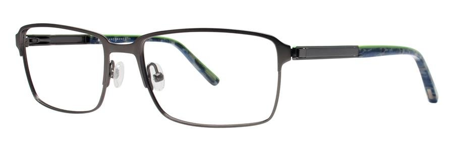 Jhane Barnes NOMIAL Gunmetal Eyeglasses Size52-17-135.00
