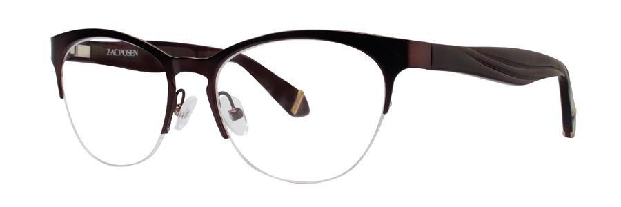 Zac Posen OLGA Burgundy Eyeglasses Size53-17-135.00