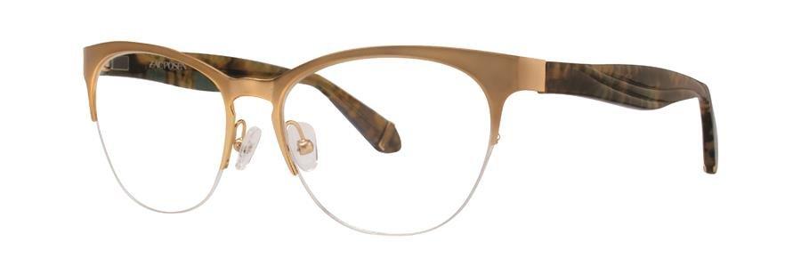 Zac Posen OLGA Gold Eyeglasses Size51-17-130.00