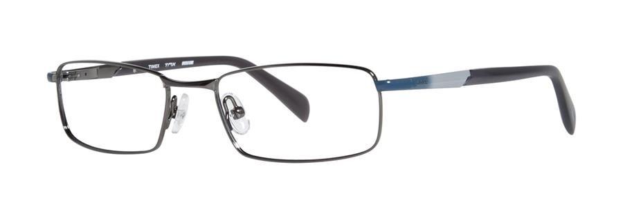 Timex OVERCOME Gunmetal Eyeglasses Size47-17-130.00