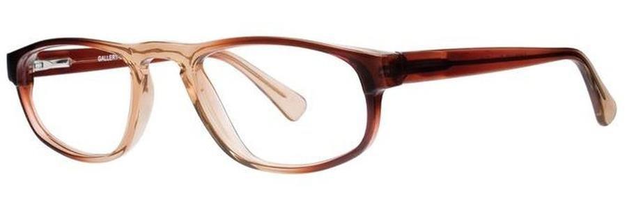 Gallery OVERLOOK Brown Fade Eyeglasses Size51-21-140.00