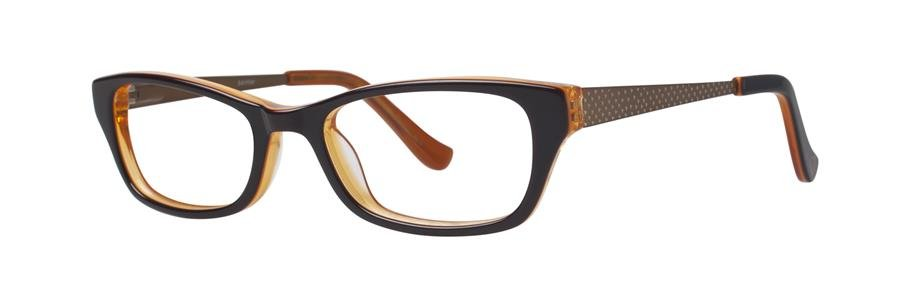 kensie PAINTER Brown Eyeglasses Size47-16-125.00