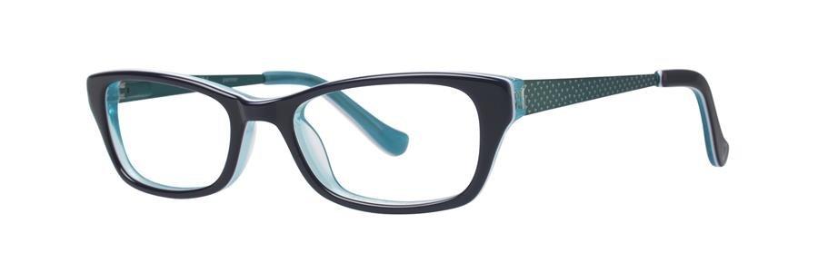 kensie PAINTER Teal Eyeglasses Size45-16-120.00