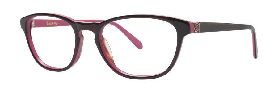 Lilly Pulitzer PALMER Cherry Tortoise Eyeglasses Size49-17-135.00
