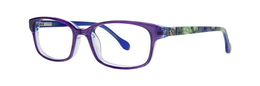 Lilly Pulitzer PARRIS Navy Eyeglasses Size48-16-125.00