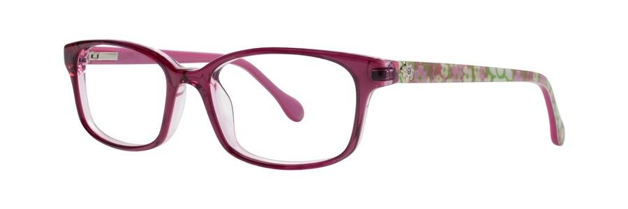 Lilly Pulitzer PARRIS Pink Eyeglasses Size46-16-120.00