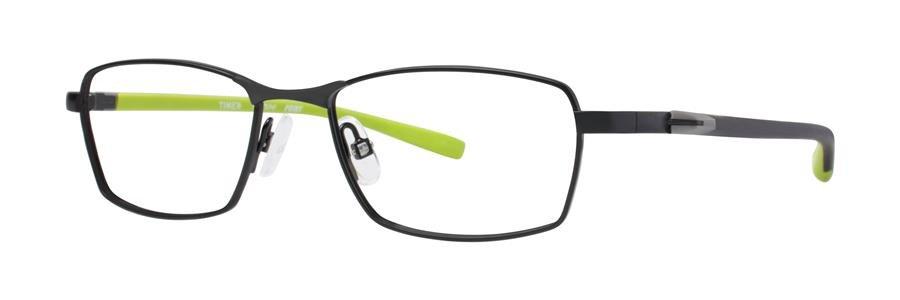 Timex POINT Black Eyeglasses Size47-16-130.00