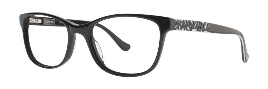 kensie POSITIVITY Black Eyeglasses Size52-17-135.00