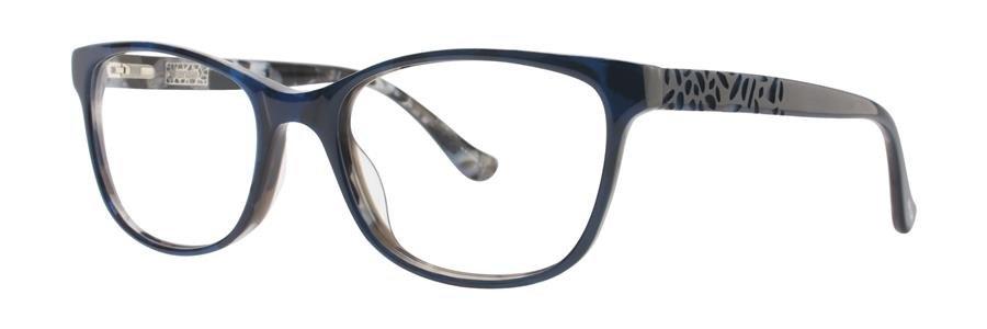 kensie POSITIVITY Navy Eyeglasses Size54-17-140.00