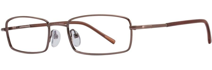 Gallery PRESTON Brown Eyeglasses Size53-18-135.00