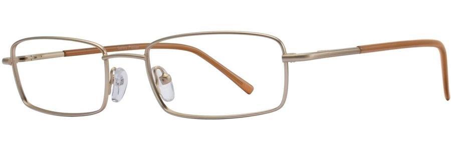 Gallery PRESTON Gold Eyeglasses Size53-18-135.00