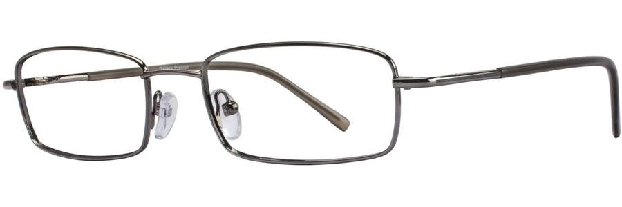 Gallery PRESTON Gunmetal Eyeglasses Size53-18-135.00
