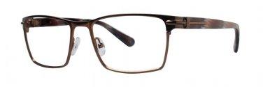 Zac Posen PRODUCER Brown Eyeglasses Size54-17-140.00